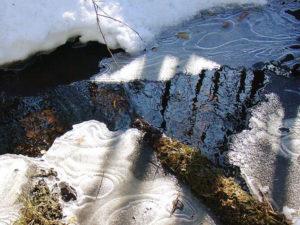 бурение скважин на воду весной